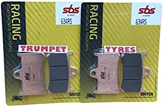 Triumph Street Triple 675 07 08 09 10 11 12 13 14 15 16 17 SBS Performance Front Fast Road Sinter Sintered Brake Pads Set Genuine OE Quality 627HS