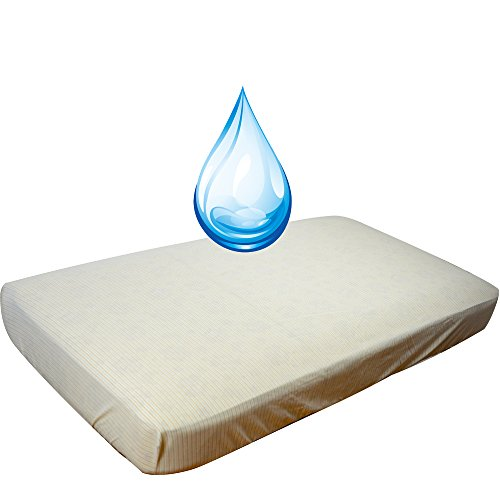 For Sale! DorDor and GorGOr Baby Waterproof Quilted Crib Size Fitted Mattress Cover Made with Organi...