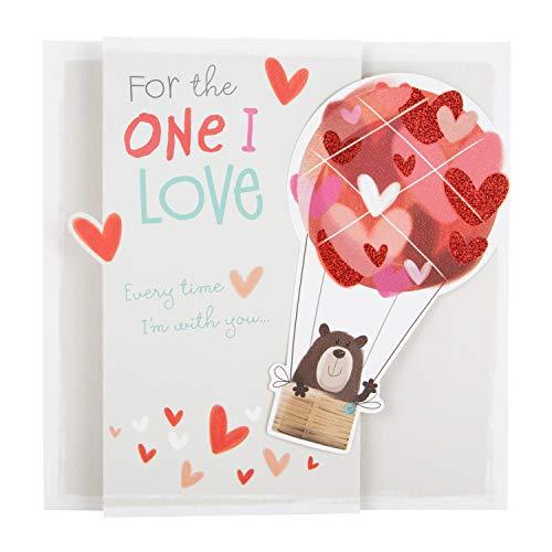 Valentijnskaart voor degene die ik liefheb van Hallmark - Uitklapbaar 3D 'Alles over Gus' Ontwerp