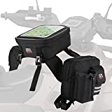 kemimoto ATV Tank Top Bag Touch-Friendly Bag/ Soft Cooler/ Water-resistant Compatible with Sportsman Scrambler FourTrax Grizzly