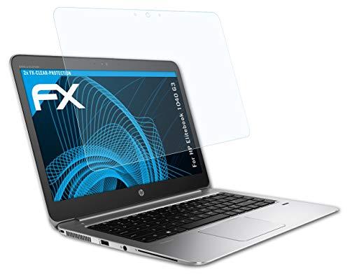 atFolix Schutzfolie kompatibel mit HP Elitebook 1040 G3 Folie, ultraklare FX Bildschirmschutzfolie (2X)