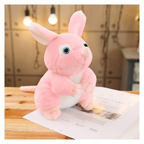 Plüschtiere 25/40 cm Schöne Maus Plüde Spielzeug Niedliche Beeinträchtigung Tier Ratte Maus Plüsch Spielzeug für Kinder Kinder Baby Dolll Mädchen lustige Geschenke ( Color : Pink , Height : 25cm )