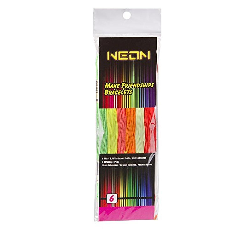 Darice 6 Polyester Floss, Neon