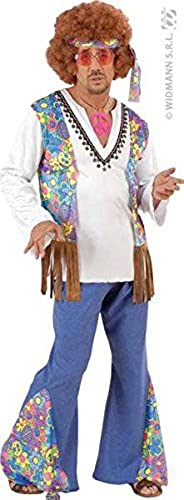 woodstock hippie Fancy Dress Costume-Men's-Größe s