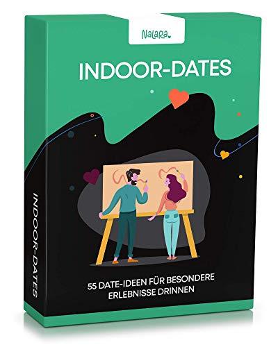 Nalara Indoor Dates - 55 liebevolle Ideen um eine unvergessliche gemeinsame Zeit zu erleben - Partner Geschenke - Hochzeitstag Geschenke für Männer