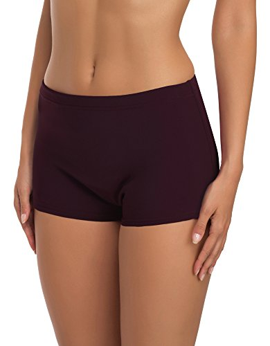 Merry Style Shorts Bañadores Deportivos Trajes de Baño Mujer Modelo L23L1 (Morado (5227), 40)