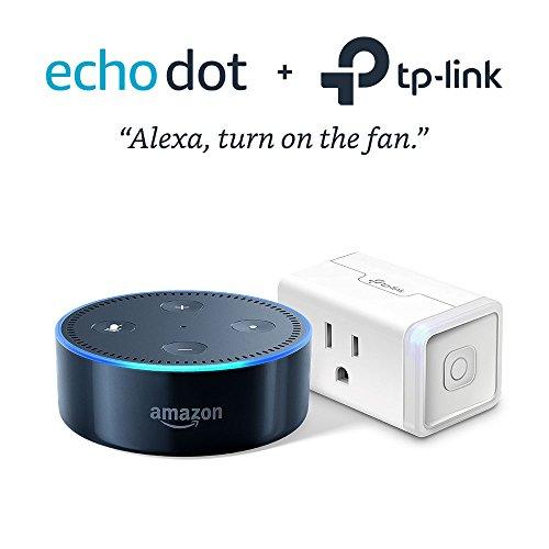 Echo Dot (2da Generación) – Black + TP-Link Smart Plug Mini