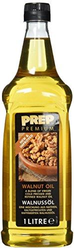 PREP PREMIUM Walnussöl 1 x 1000 ml PET Mischung aus nativen kaltgepressten raffinierten Walnussöl sehr geschmacksintensiv zum Marinieren von Fleisch Fisch Geflügel