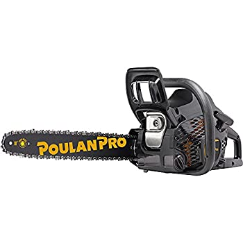 Poulan Pro PR4218 18 in 42cc 2-Cycle Gas Chainsaw Case Included