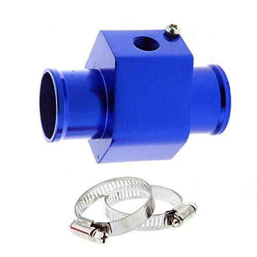 IENPAJNEPQN Adaptador de Sensor de Temperatura del Agua de 32 mm de Coche común de la Pipa del Manguito del radiador Medidor de Temperatura (Color : Blue)