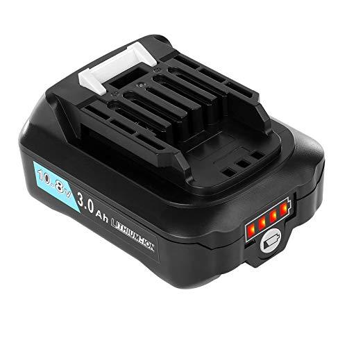 Akkopower BL1015 3.0Ahマキタ10.8Vバッテリー 互換 BL1015 BL1050 BL1060対応 掃除機 バッテリー リチウムイオン電池 CL107FDZW 充電式クリーナ 充電式ファン CF101DZ 10.8V 充電式クリーナ