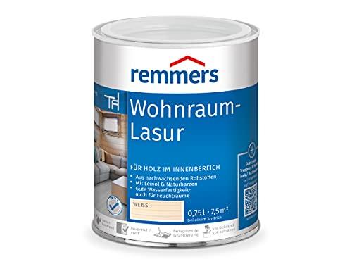 Remmers Wohnraum-Lasur - weiß 750ml