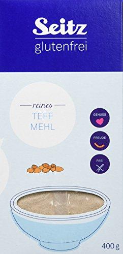 Seitz glutenfrei Teff Mehl, 6er Pack (6 x 400 g)