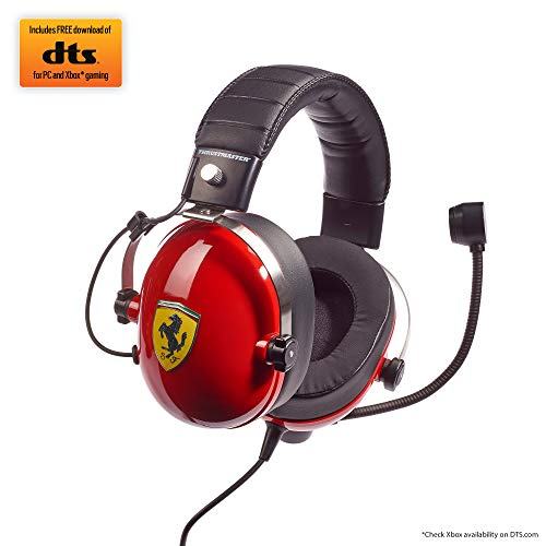 Thrustmaster T.Racing Scuderia Ferrari Edition-DTS - para PC/PS4/Xbox One/Nintendo Switch