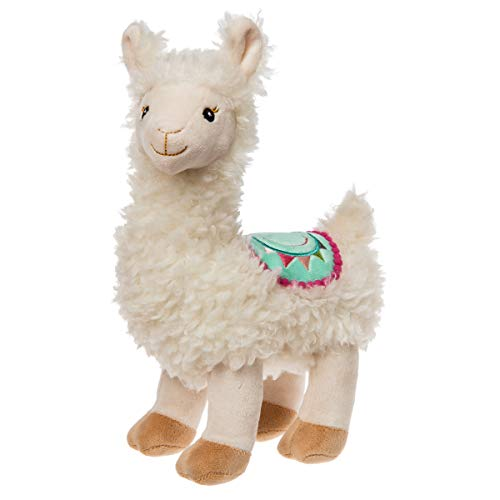 Mary Meyer Fuzzy Sherpa-Like Stuffed Animal Soft Toy, Lily Llama, 10-Inches