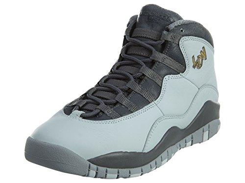 Nike Nike Jungen PR Pltnm/Mtllc Gld-Drk Gry-CL Basketballschuhe, Plateado (Pr Pltnm/Mtllc Gld-Drk Gry-Cl), 38 EU