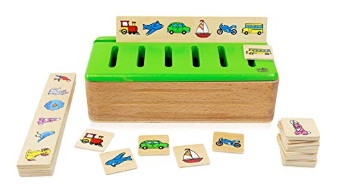 edu fun 31125 Puzzle Sortierbox Motorik-Spielzeug...