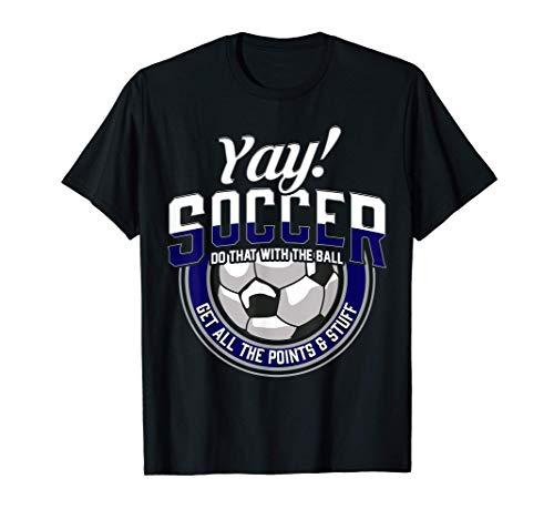 Lustiges Fußball-Zitat Fußball-Humor T-Shirt