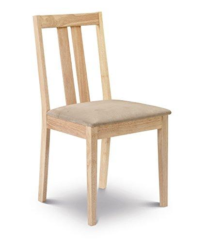 Julian Bowen Rufford - Set 2 di sedie per tavolo da pranzo