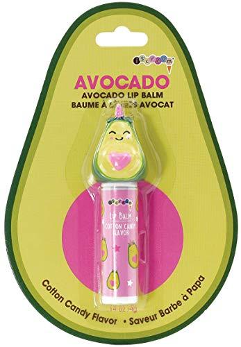 iscream Kawaii Avocado Shaped Cotton Candy Flavored Lip Balm