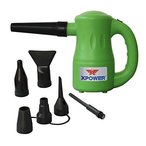 XPOWER A-2 Series Multi-Purpose Powered Air Duster Vacuum - Green