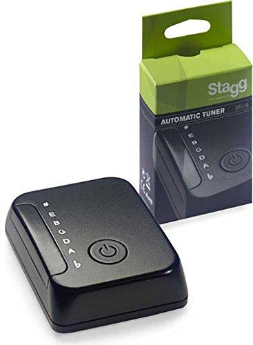 Stagg BTUG Automatisches Mini-Stimmgerät für Gitarre und Bassgitarre