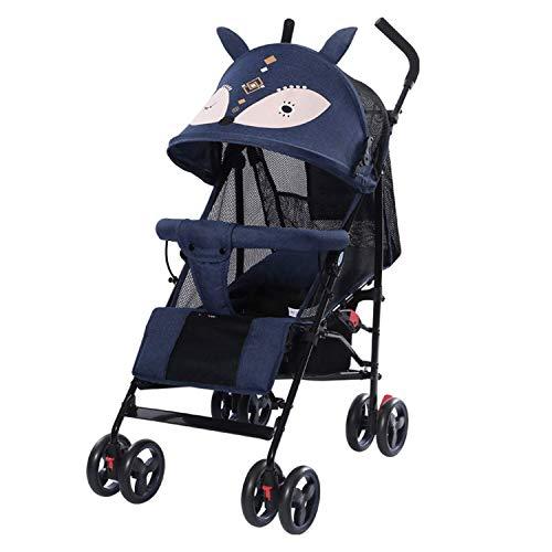 VIVOCC Cochecito de bebé Plegable Ligero Cochecito Puede Sentarse y Colocar el bebé for Recien Nacidos y niños