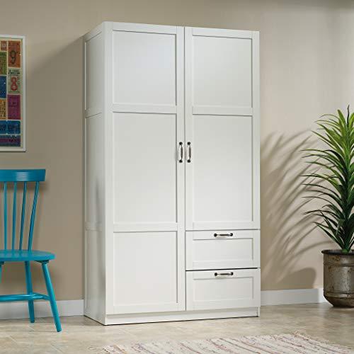 Sauder Select Collection   Wardrobe/Storage cabinet   White finish