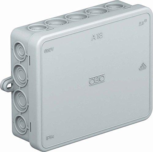 obo-bettermann System conex. IJF. Bypass–Box Steckdosenleiste Verbindung 125x 100x 38PE