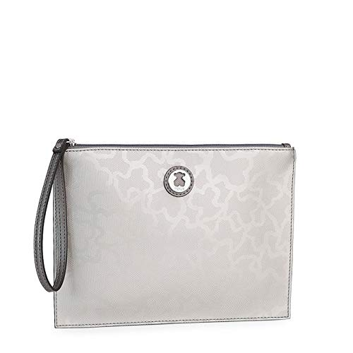 Clutch Kaos Shiny en color plata (595890384)