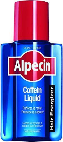 Alpecin Coffein Liquid, 1 x 200 ml – La lozione quotidiana alla caffeina che previene la caduta dei capelli