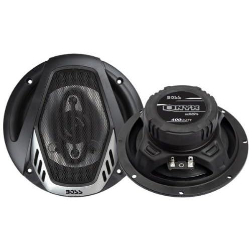 BOSS NX654 enceinte de voiture 4-voies 400 W - Enceintes de voiture (4-voies, 400 W, 4 Ohm, 90 dB, 65-20000 Hz, 5,84 cm)