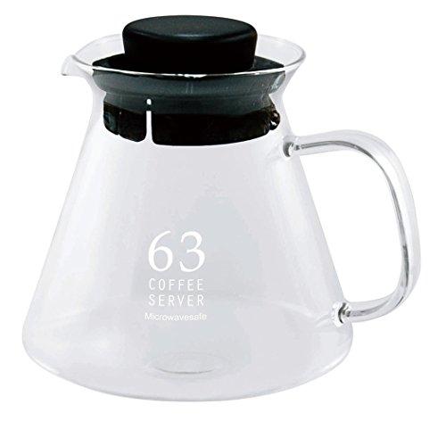 南海通商 ロクサン ガラスコーヒーサーバー クリア サイズ:約φ12 H12 0701-004