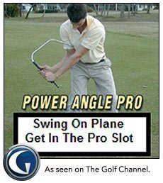 Power Angle Pro, Mens, Right Handed - Golf Swing Trainer