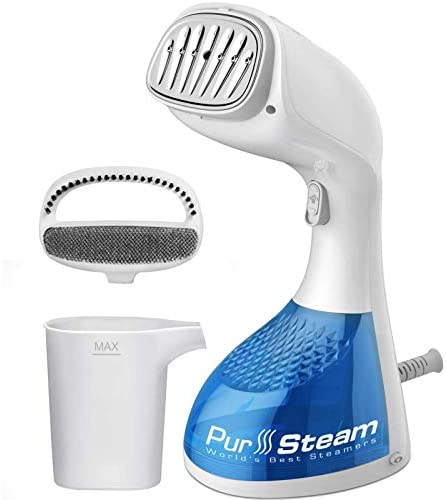 PurSteam 1400 Watt Steamer for Clothes Wrinkle Remover Fast Heat up Large Detachable Water Tank product image