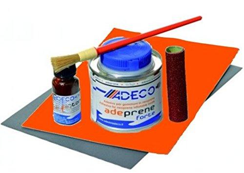 Schlauchbootkleber 2 Komponenten Reparaturset in orange