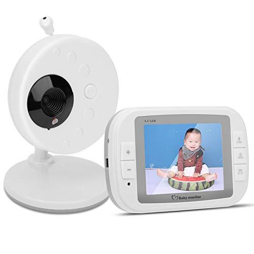 Monitor de bebé con cámara, cámara para bebés, caja fuerte con intercomunicador bidireccional de buena seguridad para la caja fuerte del hogar del bebé infantil(European regulations)