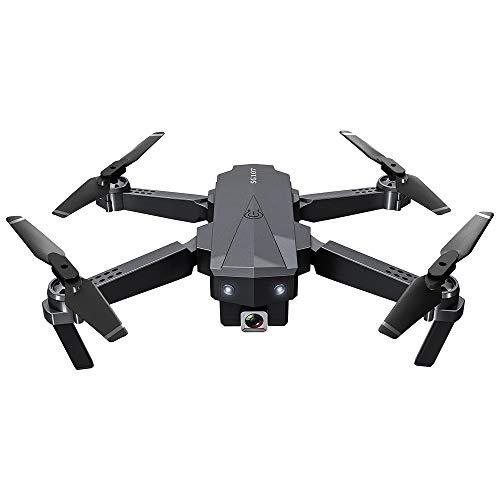 ZAKRLYB Photography Aircraft, 4K HD Funcionamiento de la antena plegable Drone, posicionamiento de flujo óptico Quadcopter, WiFi Transmisión de imagen de alta definición, 50x Zoom, 15mins Tiempo de vu