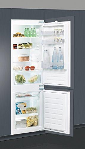 Indesit B 18 A1 D S/I Incasso 275L A+ Acciaio spazzolato frigorifero con congelatore
