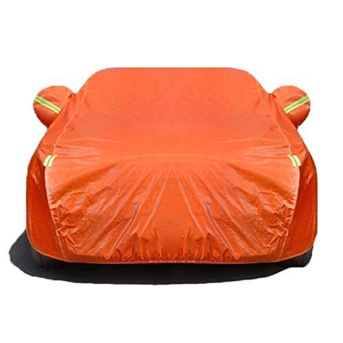 Cubierta de automóvil compatible con Citroen C4 C5 C4L C2 C3 XR C5 Aircross C6 5-Capa Pesado Pesado Pantalla solar impermeable a prueba de polvo Cubierta a prueba de coches con cremallera