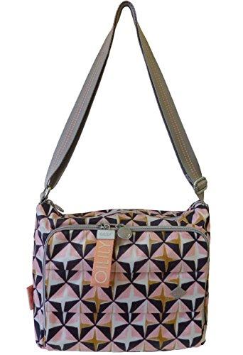 Oilily Ruffles Geometrical ShoulderBag MHZ Damen Tasche