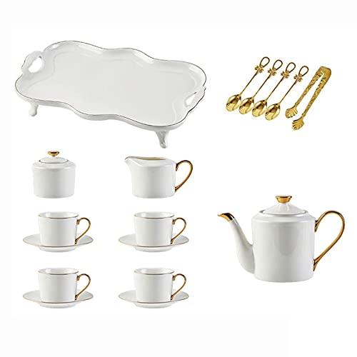 Porcelain Tea Sets Coffee Cups And Saucers Tea Set For Adults Coffee Tea Gift Sets For Tea Coffee Afternoon Tea Party