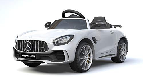 RC Auto kaufen Kinderauto Bild 3: Shov Mercedes Benz GTR AMG Kinderauto Elektroauto Kinderfahrzeug 12V (Weiss)*
