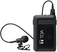 TOA ワイヤレスマイクロホン タイピン型 800MHz WM-1320
