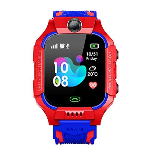 Smartwatch telefoon GPS-tracker smartwatch SOS-anti-verliesfunctie voor baby kinderen intelligent horloge telefoon voor 3 – 12 jaar jongens meisjes kinderen cadeau Kerstmis verjaardag