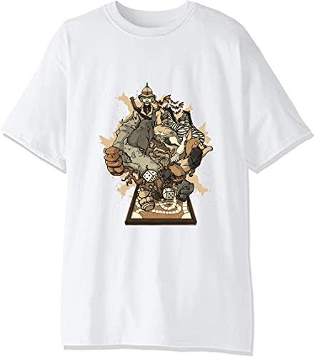 Artwork of Magical Board Game Camiseta para hombre.
