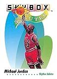 1991-92 SkyBox Basketball #572 Michael Jordan Chicago Bulls SAL Official NBA Trading Card