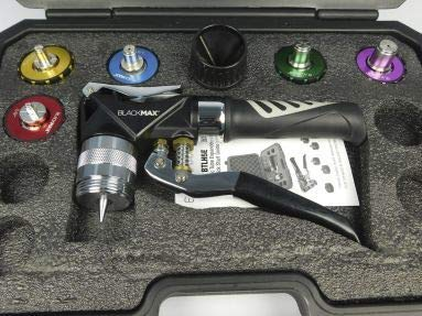 CPS BLACKMAX BTLH5E Premium Hydraulic Multi-Head Tube Expander Kit, with Color Coded Heads for 3/8', 1/2', 5/8', 3/4', 7/8'