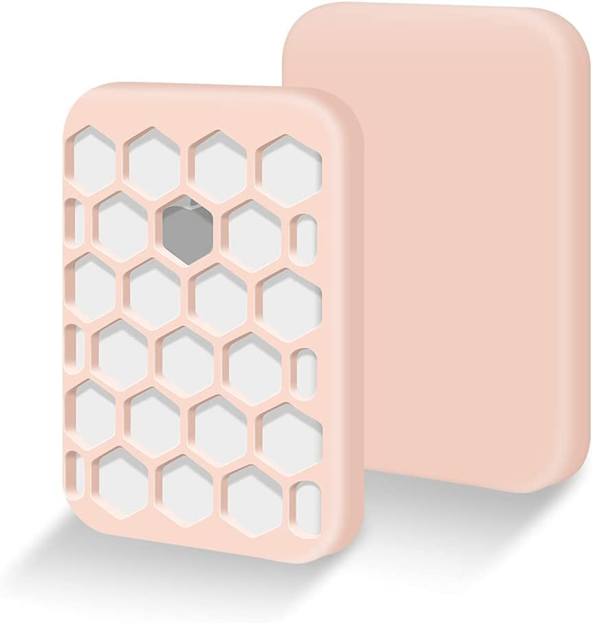 Silicone Case for Apple MagSafe Battery Pack,Protective Cover for MagSafe Battery Pack Protector Skin Sleeve-Pink, 1 Pack