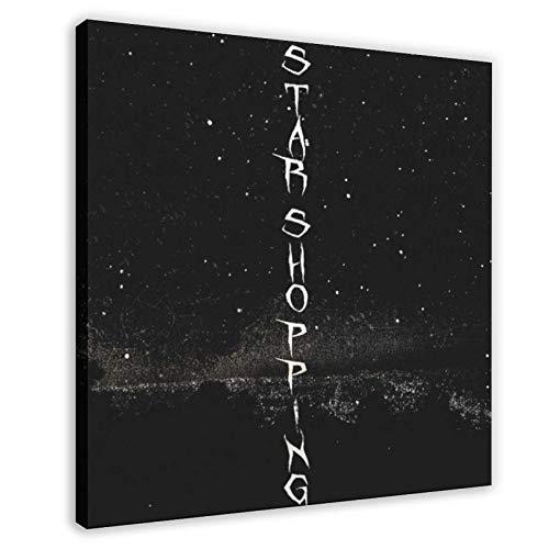 American Rapper Lil Peep Star - Álbum de compras (60 x 60 cm)